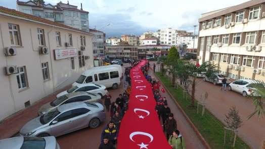 Sinop'ta Sarıkamış şehitleri anıldı