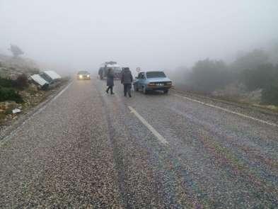 Adıyaman'da yoğun sis kazaya neden oldu: 7 yaralı
