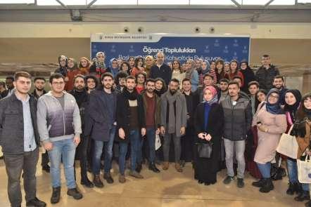 Bursa Büyükşehirin örnek eğitim ve çevre hassasiyeti