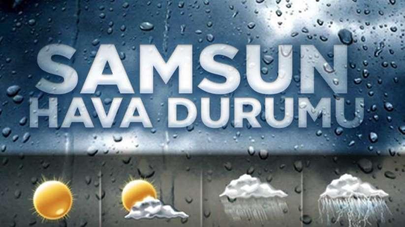 6 Ocak Pazartesi Samsun ve ilçeleri hava durumu?