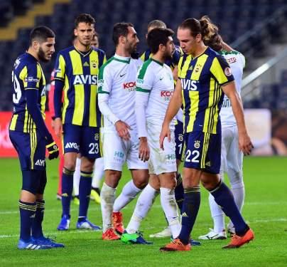 Fenerbahçe: 0 - Giresunspor: 0 (İlk yarı)
