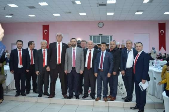 Hemşehri derneklerinden Sarıcaoğlu'na destek