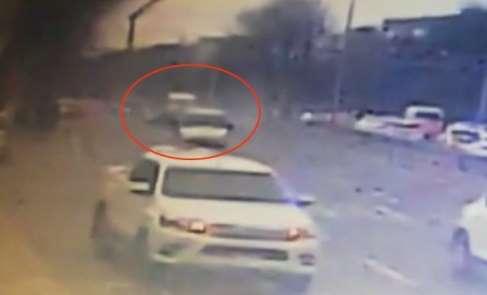Lise öğrencisinin hayatını kaybettiği kaza kamerada