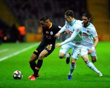 Ziraat Türkiye Kupası: Galatasaray: 1 - Hatayspor: 0 (İlk yarı)