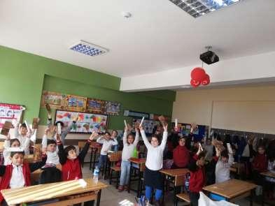 İzmit'te öğrencilere çevre eğitimi verildi