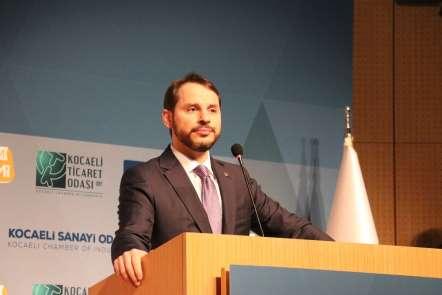 İş dünyası ile bir araya gelen Hazine ve Maliye Bakanı Berat Albayrak: