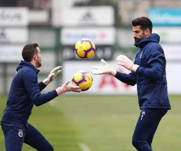 Fenerbahçe, Başakşehir hazırlıklarını sürdürdü