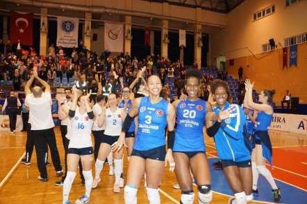 CEV Challenge Kupası: Aydın Büyükşehir Belediyespor: 3 - Geni Volley: 1