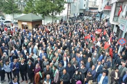 Cumhur İttifakı'ndan Ünye'de gövde gösterisi
