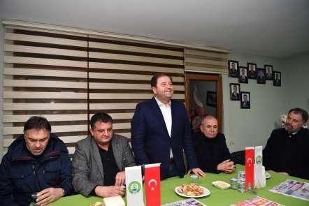 Maltepe Belediye Başkanı Ali Kılıç Giresunlularla buluştu
