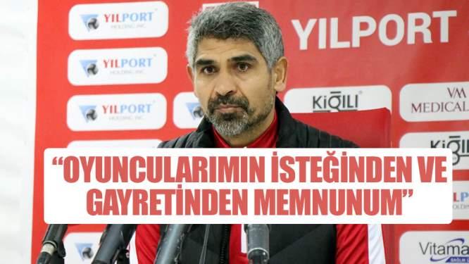Yılpor Samsunspor - Bodrum Belediyesi Bodrumspor maçının ardından