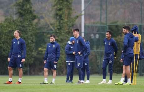M.Başakşehir, Fenerbahçe maçı hazırlıklarını sürdürdü