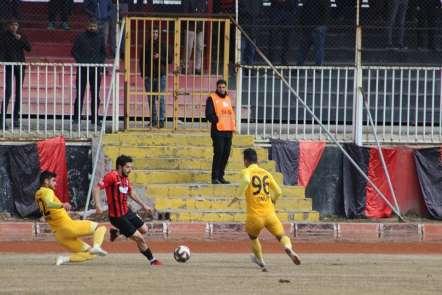 TFF 3. Lig: Van Büyükşehir Belediyespor: 0 - Osmaniyespor: 0