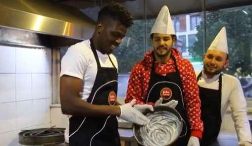 Hataysporlu futbolcular mutfakta hünerlerini sergiledi
