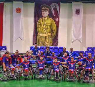 Tekerlekli Sandalye Basketbol Takımı Avrupa yolcusu