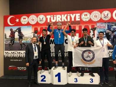 Uludağ Üniversitesi'nden iki altın madalya
