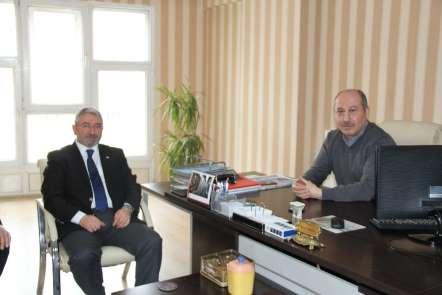 AK Parti Belediye Başkan Adayı Aşgın'dan İHA'ya ziyaret