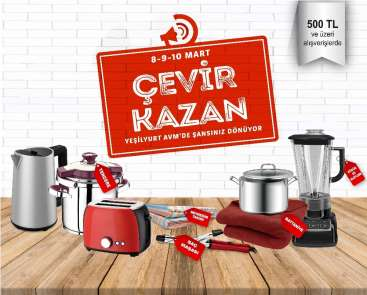 Çevir Kazan kampanyası