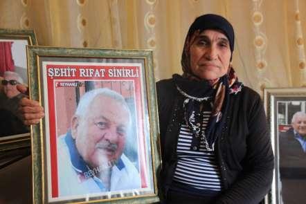 YPG'nin roketle şehit ettiği Rıfat Sinirli'nin eşinden Kılıçdaroğlu'na tepki