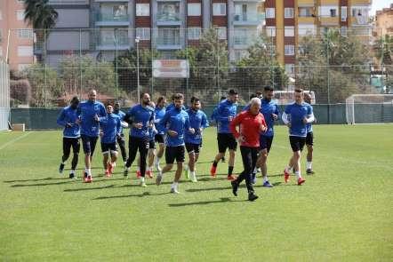 Alanyaspor, BB Erzurumspor maçı hazırlıkları başladı
