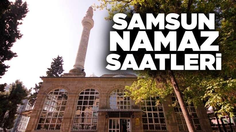 6 Mart Cuma Samsun'da namaz saatleri
