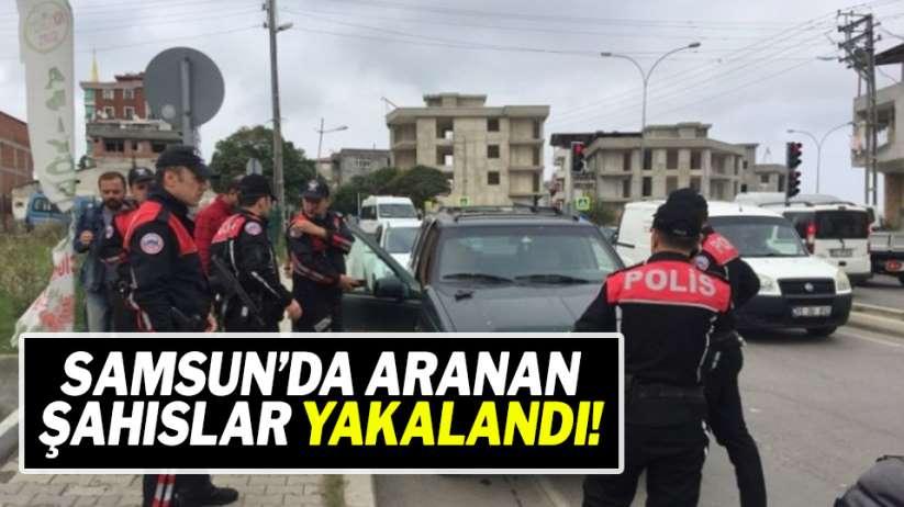 Samsun'da Türkiye Huzur Güven Uygulaması
