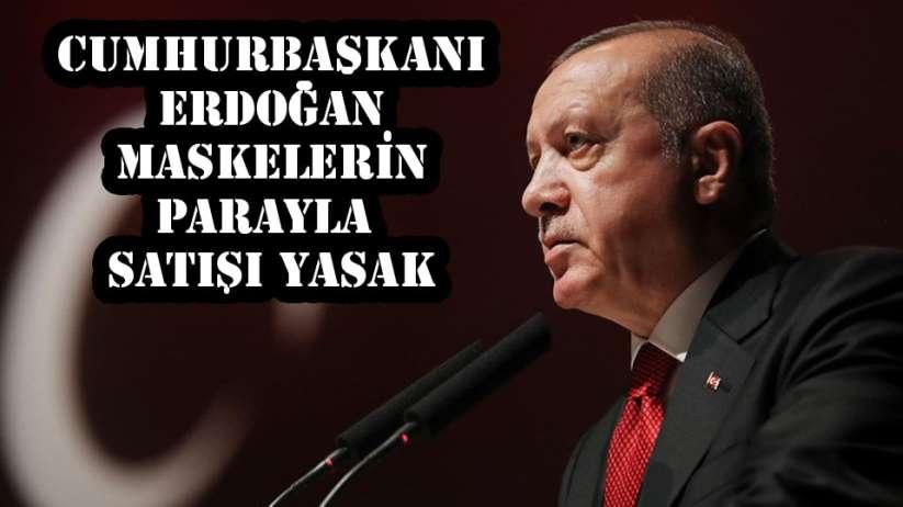 Türkiye'de maskeler bedava olacak