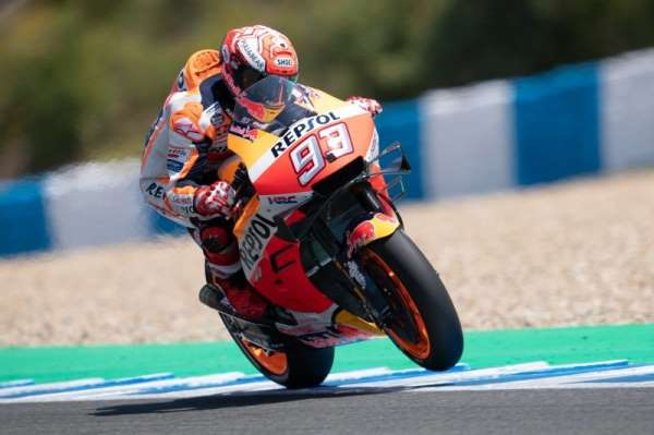 MotoGP İspanya Grand Prix'sinde Marc Marquez 1'inci oldu
