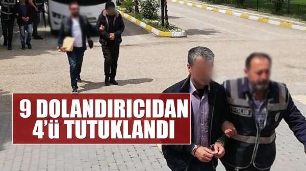 Ankara'da yakalanan 4 telefon dolandııcısı tutuklandı