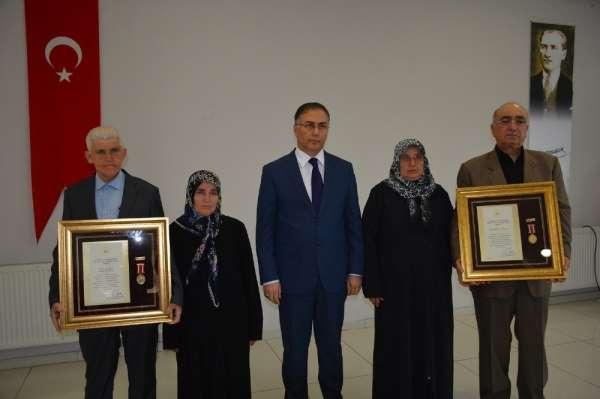 Sinop'ta 'Devlet Övünç Madalyası Tevcih Töreni'