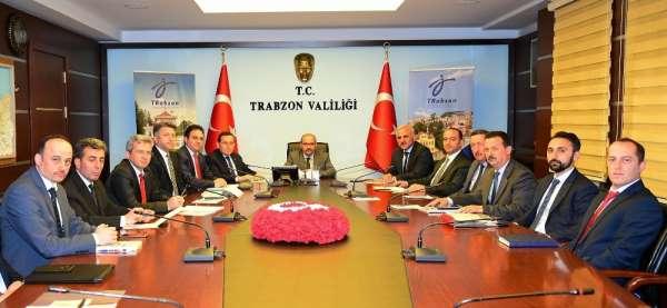 Trabzon Valiliği'nde turizm toplantısı