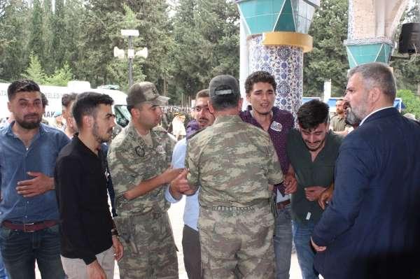 Şehit Ali Çeker Hatay'da son yolculuğuna uğurlandı