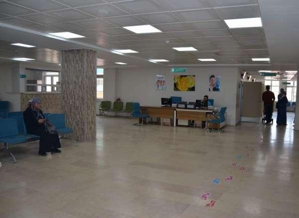 Hastanelerde Ramazan sessizliği