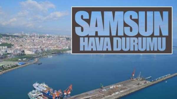 Samsun'da hava durumu (06.06.2019)
