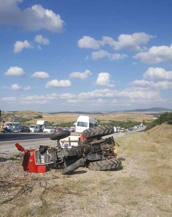 Yozgat'ta trafik kazası: 1 ölü, 6 yaralı