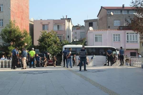 Adliyeye sevk edilen 13 kişi tutuklandı