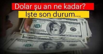 Dolar kuru bugün ne kadar? 6 Eylül