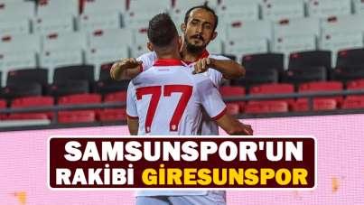 Samsunspor'un rakibi Giresunspor