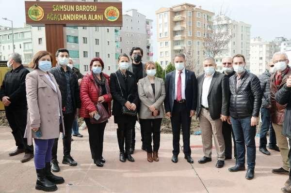 Atakumda hukukçulara Meslekte Vefa Bahçesi