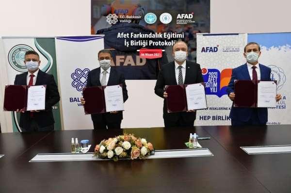Balıkesirde AFAD eğitimi üniversitelerde de verilecek