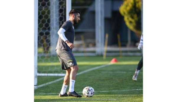 Bursasporda Ümraniyespor maçı hazırlıkları devam ediyor