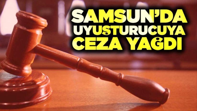 Samsunda uyuşturucuya ceza yağdı