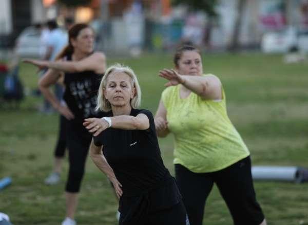 Sağlık için spor yapacaklar