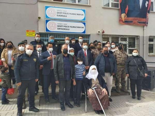 Şehit Polis Yılmaz Mayukun ismi 2 okulda yaşatılacak