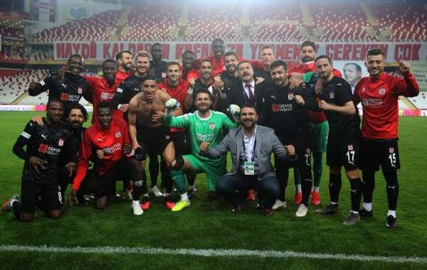 Sivasspordan Antalya hatırası!
