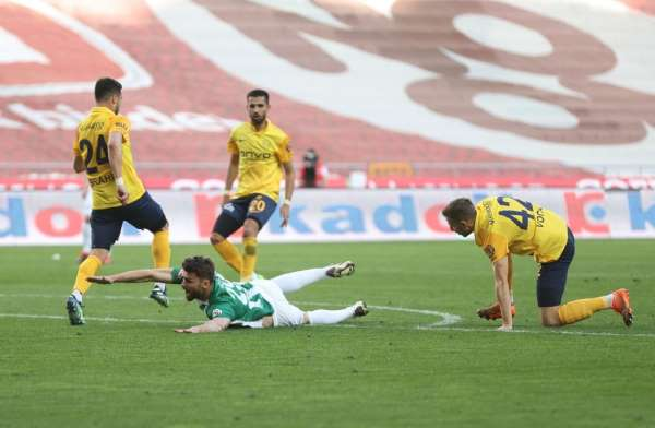 Süper Lig: Konyaspor: 1 - MKE Ankaragücü: 1