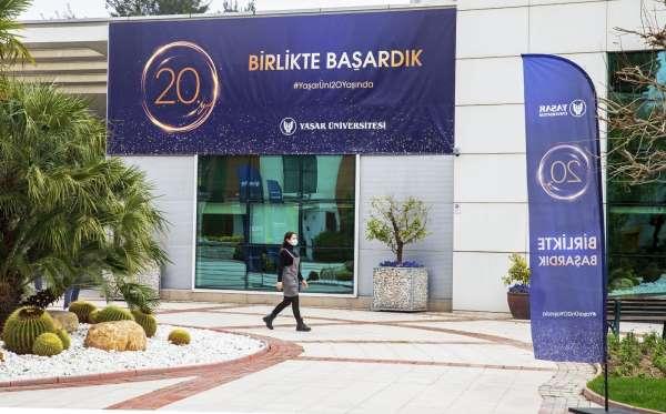 Yaşar Üniversitesinde 20. yaş gururu