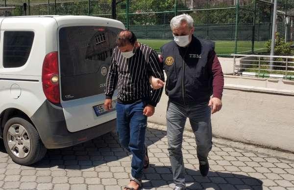 DEAŞtan gözaltına alınan yabancı uyruklu şahıs adliyeye sevk edildi
