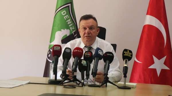 Denizlispor Kulübü Başkanı Ali Çetin: Yaklaşık 72 Milyon TL borç ile göreve başladık. Süper Lige de 43 Milyo