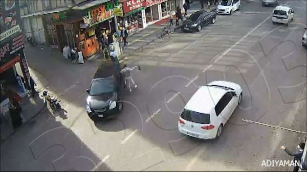 Feci kazalar kameraya yansıdı